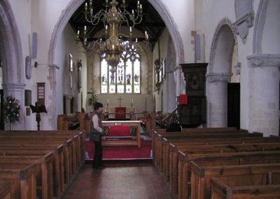 Inside the St Nicholas, 2005